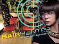 Neues Sujet aus einer Serie für Projektionen und Plakate von Hairhunter - 4x in Graz