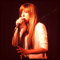 Christina Grimmie at the Hotel Cafe