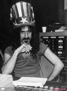 "Frank Vincent Zappa (December 21, 1940 – December 4, 1993) was an American composer, singer-songwriter, electric guitarist, recording engineer, record producer and film director. In a career spanning more than 30 years, Zappa wrote rock, jazz, orchestral and musique concrète works. Frank Zappa & Interviewer: ""So Frank, you have long hair. Does that make you a woman?""  FZ: ""You have a wooden leg. Does that make you a table?"""