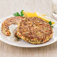 Gefilte Fish Cakes with Horseradish Dill Sauce More