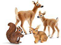 Schleich North America Forest Animal Babies Set Baby Animals