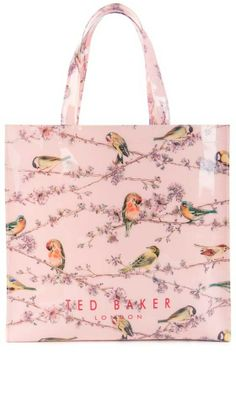Ted Baker Bird Print Shopper