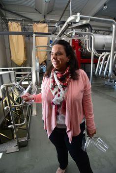 Carmen Blanco, directora técnica de la bodega Marqués de Cáceres en Rueda