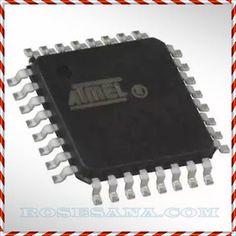 ATMEL AT90USB162-16AU chip
