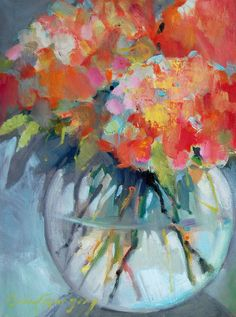 Coral Floral by Erin Gregory