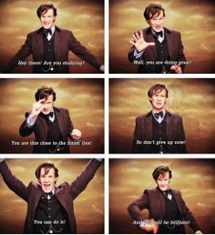 Post with 1109 votes and 74017 views. Tagged with funny, cute, doctor who, dump; Doctor Who stuff I like. Undécimo Doctor, Serie Doctor, Eleventh Doctor, Geronimo, Sherlock, Jace Lightwood, Don't Blink, Torchwood, Study Motivation
