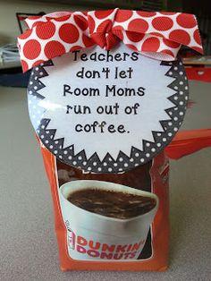 Treat your room volunteers right