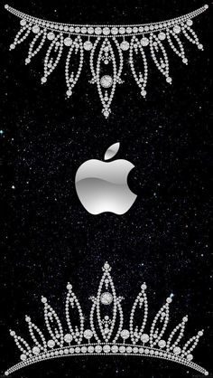 *✿**✿*W.PHONE*✿**✿* Apple Logo Wallpaper Iphone, Free Iphone Wallpaper, Wallpaper Backgrounds, Iphone Wallpapers, Apple Iphone, Iphone 8, Bling Wallpaper, Future Wallpaper, Cell Wall