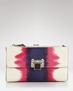 Rebecca Minkoff COLLECTION Clutch - The Coco - Contemporary - Bloomingdale's    (Paint. Brush strokes of paint, splatter paint... paint is popping up everywhere.)
