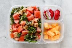 quick and easy kale salad - just quickly tossed with sesame oil and ...