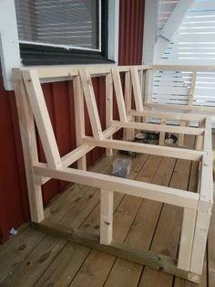 Sitzbank selber bauen - haben Sie Spaß mit dem praktischen DIY ...