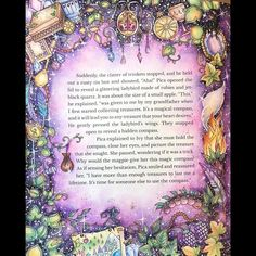 Image result for johanna basford ivy and the inky butterfly coloured pages