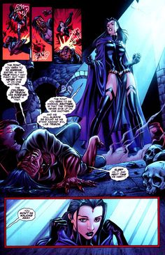 Raven beating up her brother. She is my total favorite. Always fighting to be a hero. Choosing to be good isn't easy for her, but she fights for what is right, even if it kills her. - Visit to grab an amazing super hero shirt now on sale! Raven Comics, Comics Love, Dc Comics Art, Marvel Dc Comics, Teen Titans Raven, Teen Titans Go, Dc Comics Characters, Fantasy Characters, Dc Comic Books
