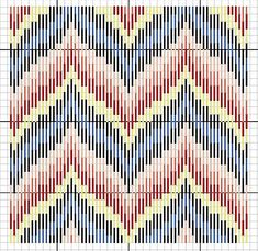 Florentine Bargello Embroidery: 25 Patterns for Different Difficulty Levels, фото № 21 Bargello Quilt Patterns, Bargello Needlepoint, Applique Quilt Patterns, Needlepoint Pillows, Needlepoint Stitches, Embroidery Patterns Free, Hand Embroidery Stitches, Plastic Canvas Ornaments, Plastic Canvas Crafts