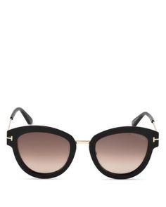 1acccad6cc46d Tom Ford Mia Round Sunglasses