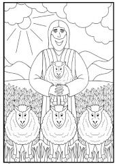 De goede herder - album képeinek, belső albumainak megjelenítése