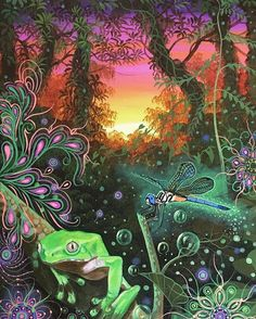 Visionary Art, Northern Lights, Painting, Inspiration, Fill, Instagram, Inspire, People, Flowers