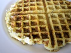 I love the cauliflower pizza crust recipe - but I found it hard to make it hold together, til I put it in my waffle iron.  http://www.eat-drink-smile.com/2011/04/cauliflower-crust-pizza.html
