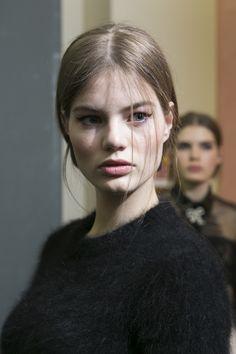 Philosophy Di Lorenzo Serafini Fall 2017 Fashion Show Backstage, Milan Fashion Week