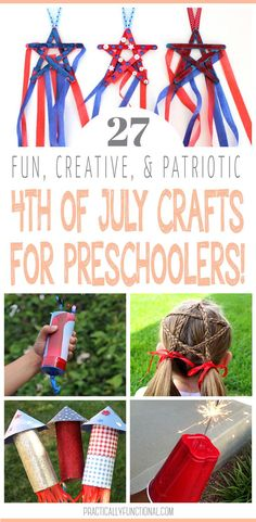 Bring on the fireworks, cookouts, hot dogs, and American flags! We are getting ready for this fun summer holiday with these fun and creative of July crafts for preschoolers! Fireworks Craft, 4th Of July Fireworks, Patriotic Crafts, July Crafts, 4th Of July Party, Fourth Of July, Toddler Crafts, Preschool Crafts, Hot Dogs