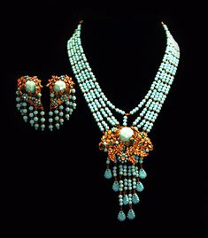 Vintage Runway Haute Couture Jewelry Set Miriam от Laeclectica