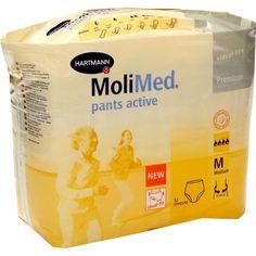 MOLIMED Pants Active medium:   Packungsinhalt: 12 St PZN: 00074872 Hersteller: PAUL HARTMANN AG Preis: 14,05 EUR inkl. 19 % MwSt. zzgl.…