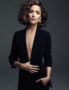 Rose Byrne Goes to the Suburbs from April 2014 W Magazine. I love this style!