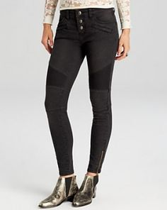 Free People Seamed Moto Skinny Jeans in Moonlight worn by Hayley Marshall on The Originals. Shop it: http://www.pradux.com/free-people-seamed-moto-skinny-jeans-in-moonlight-35482?q=s49