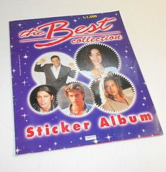 THE-BEST-COLLECTION-1993-Edigamma-sticker-book-empty-album-figurine-vuoto Sticker Books, Empty, Album, Stickers, Collection, Art, Sticker, Kunst, Decal