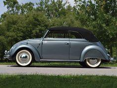 1955 Volkswagen Beetle Cabriolet by Karmann