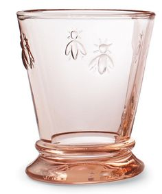 Rose tinted, french bee glasses
