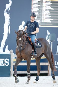 "zuzeqzu: "" Longines Global Champions Tour of Rome 2017 Harrie Smolders& Don VHP Z ©Stefano Grasso/LGCT, source: Longines Global Champions Tour on Facebook """