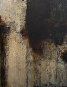 Rebecca Crowell: Mayo Coast, 2; mixed media on panel, 40 x 30 inches @ Thomas Deans Fine Art
