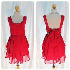 I hate Valentine's Day, but this would be a good dress for it.
