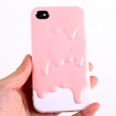 New Hot Melt Melting Ice Cream Hard Back Cover Skin Case for iPhone 4 4S Pink | eBay