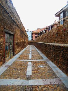 Rinda y adarve de Cerca Medieval.