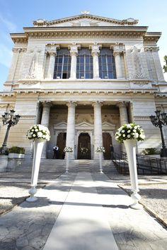 Rome Main Synagogue exterior
