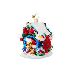 Christopher Radko Ornaments   Radko Animal In the Dog House 1018835