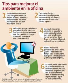 MGGREPRESENTACIONES: Mejorar el ambiente en la #Oficina