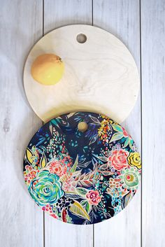 Stephanie Corfee Night Bloomers Cutting Board Round | DENY Designs Home Accessories