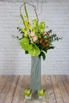https://flic.kr/p/PAWh87 | IMG_7019-3 | Blog | Facebook | Instagram Floral arrangement designed by Garden Party Flowers Vancouver www.gardenpartyflowers.ca