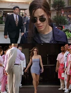 Miss Congeniality. Before and After.