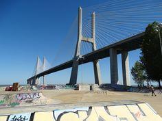 Ponte Vasco da Gama, Bridge Lisbon, Portugal