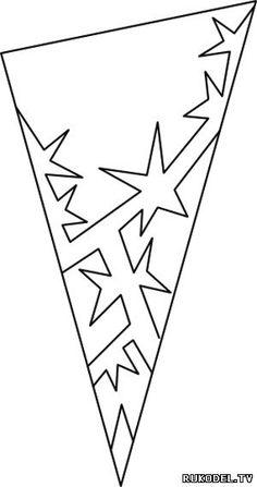 Снежинки из бумаги, шаблоны для вырезания своими руками - Новый год - Праздники - Каталог статей - Рукодел.TV