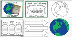 Here's an Earth Day craftivity and writing form.