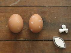 STEMPELEIER // stamped easter eggs