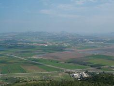 Overlooking the Valley of Armegdon & Nazareth
