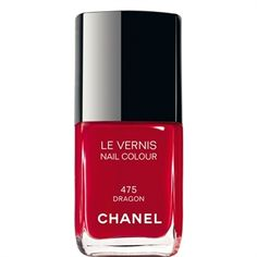 Chanel Le Vernis nail varnish. Extremely long-lasting! Colour 487 (rouge fatal) is a lovely shade of red. Want ot try colour 505 (particuliere)