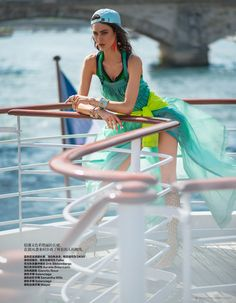 Maud Le Fort by Benjamin Kanarek for Harper's Bazaar China July 2014