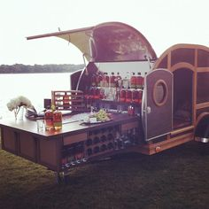 NM Fantasy Gift: The ultimate tailgating trailer from Bulleit #christmasbook